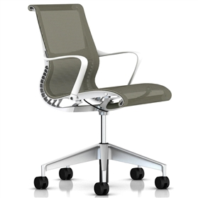 Herman Miller Setu Task Chair, Chino