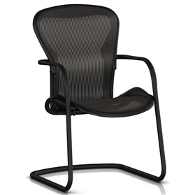 Herman Miller Aeron Side Chair, Graphite
