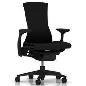Herman Miller Embody, Balance Black Fabric