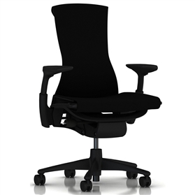 Herman Miller Embody Rhythm Black Fabric