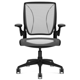 Humanscale Diffrient World Chair Black Edition 3-5 working day delivery