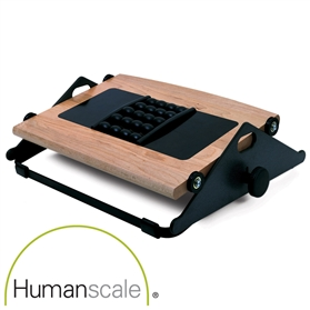 Humanscale Foot Machine FR300B with Massage Balls, Natural