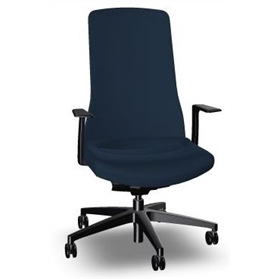 NEXT DAY DELIVERY! Interstuhl PURE is3 Swivel Chair, Sapphire Blue