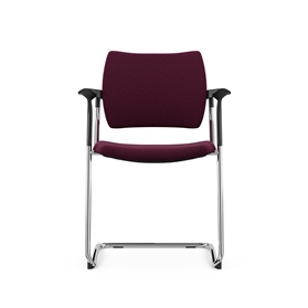 Komac Dream Cantilever Upholstered Chair