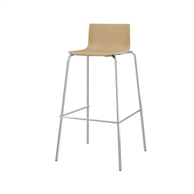 Komac Event 4 Wooden High Stool