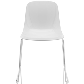 Komac Loop Sled Base Chair