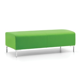 Komac RAFT Two Seater Bench No Back No Arms