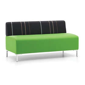 Komac RAFT Two Seater Bench No Arms