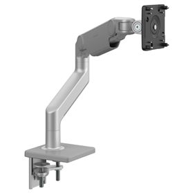 New Humanscale M8.1 Heavy Duty Monitor Arm, Silver with Grey Trim