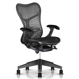 NEXT DAY DELIVERY! Herman Miller Mirra 2, TriFlex II Back, Graphite Edition