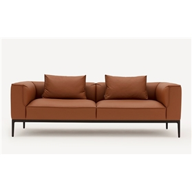 Allermuir Oran Modular 2 Seat sofa Designed by Mark Gabbertas