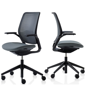 Orangebox Eva Office Chair with Black Plastic Trim