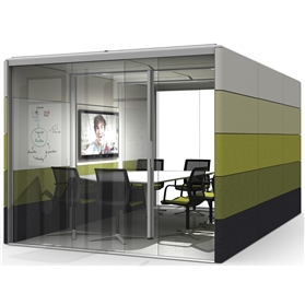 Orangebox AIR 26 Rectangle Acoustic Pod, Fixed Roof