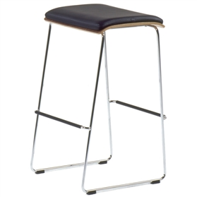 Orangebox Peak Showood Stool With Pad