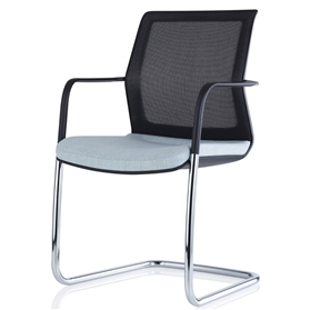 Orangebox Workday Cantilever Meeting Chair