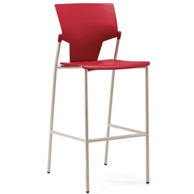 Pledge Ikon Plastic Four Leg Stool