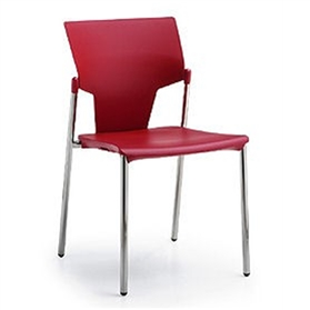 Pledge Ikon Four Leg Plastic Chair