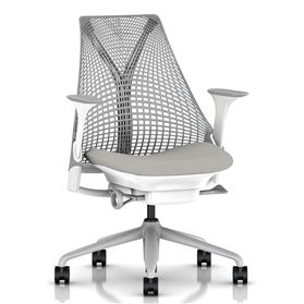 NEXT DAY DELIVERY! Herman Miller Sayl Office Chair, Aristotle, Fog Base