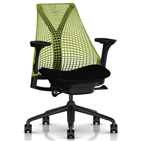 Herman Miller Sayl Green and Black Edition