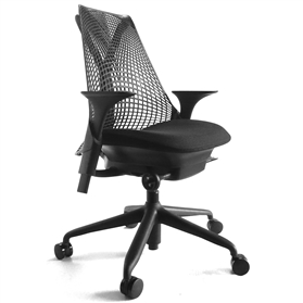 Herman Miller Sayl Standard All Black Chair
