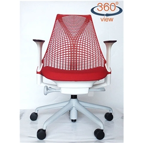 Herman Miller Sayl Office Chair, Rosso Red