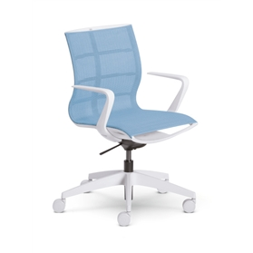 Sedus se:joy Swivel Chair, Light Blue Edition