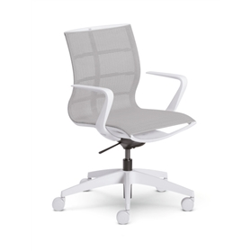 NEXT DAY DELIVERY! Sedus se:joy Swivel Chair, Light Grey Edition