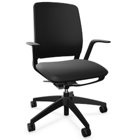 IN STOCK Sedus se:motion Office Swivel Chair, Black, 3-5 Working Day Delivery