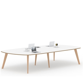 Senator Pailo Boat Shaped Project Table