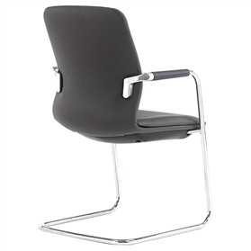 Senator Symmetry Mid-back Stacking Cantilever Chair