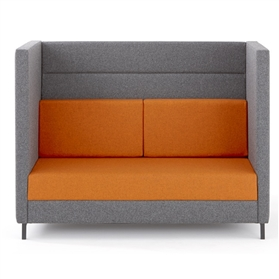 Torasen Elect Two Seater High Back Sofa