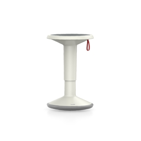 Interstuhl UPis1 Adjustable Stool, Smart White