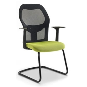 Verco Mesh Medium Back Visitors Chair