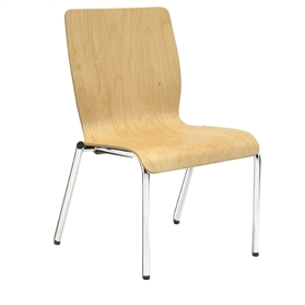 Verco Profile Medium Back Four Legged Visitor Chair