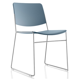 Verco Stax60 Plastic Stacking Chairs, Stack 60 HIgh