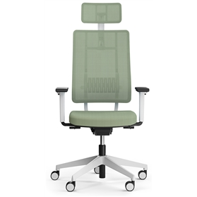 Viasit Newback Office Chair with headrest, Telegrey frame