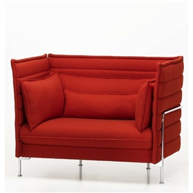 Vitra Alcove Love Seat with cushions