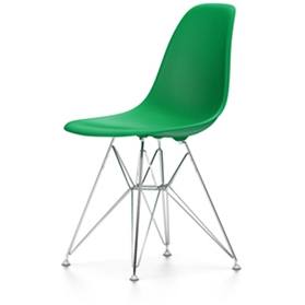 Vitra Eames DSR Chair, Classic Green