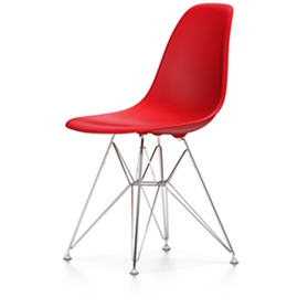 Vitra Eames DSR Chair, Classic Red