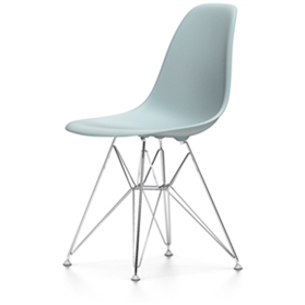 Vitra Eames DSR Chair, Ice Grey