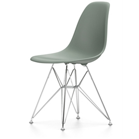 Vitra Eames DSR Chair, Moss Grey