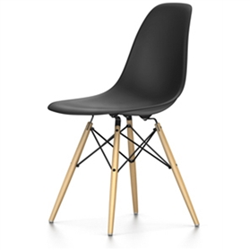 Vitra Eames DSW Chair, Basic Dark