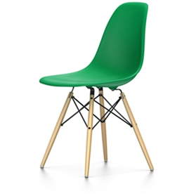 Vitra Eames DSW Chair, Classic Green