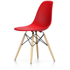 Vitra Eames DSW Chair, Classic Red