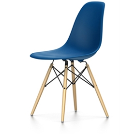 Vitra Eames DSW Chair, Navy Blue