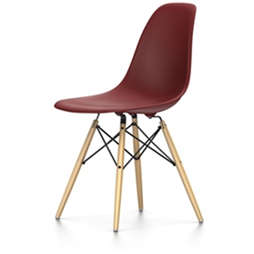 Vitra Eames DSW Chair, Oxide Red