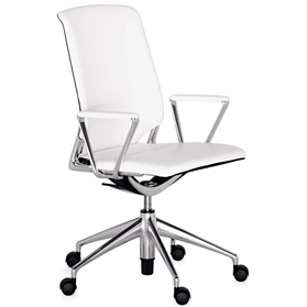 Vitra Meda Leather Office Chair