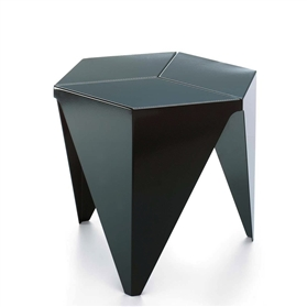 Vitra Black Prismatic Table by Isamu Noguchi