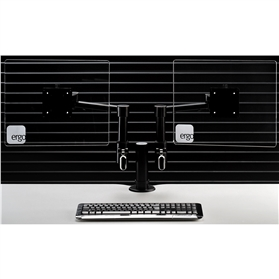Ergo X-Stream Dual Screen solution - 2 x Dual Beam Arms