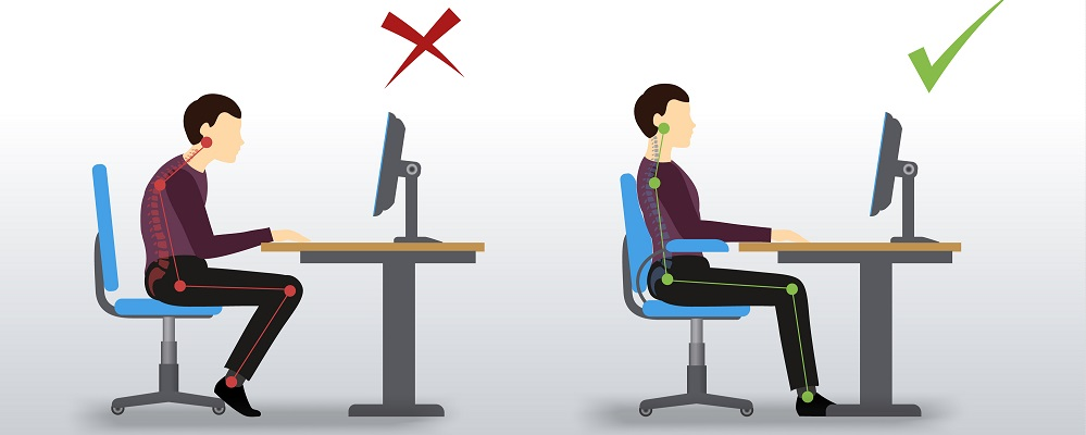 Superb Best Sitting Position How To Improve Posture Office Chairs Uk Inzonedesignstudio Interior Chair Design Inzonedesignstudiocom